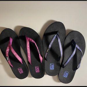 Teva Flip flops